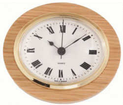 OVM Oval Mounted Clock