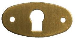 Oval Escutcheon Plate EPOV