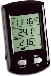 Wireless Thermometer with Radio Controlled Clock (TFA30-3034)