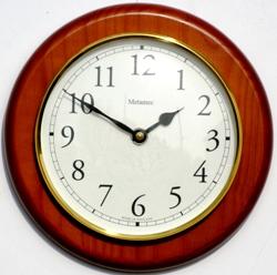 Metamec Pine Clock 145mm bezel
