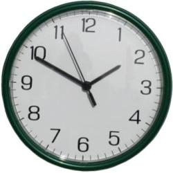 Metamec Green Wall Clock