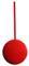 Red Pendulum Bob 70mm diameter Bob 185mm long