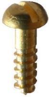 Brass Round Headed Wood Screws