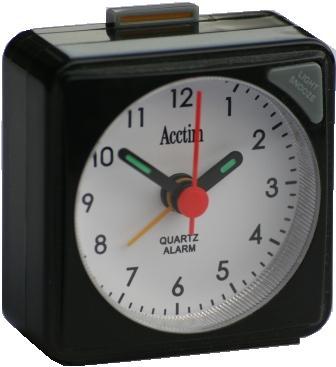 Acctim Tourer Quartz Alarm Clock 12143