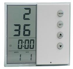 Transparent Digital Alarm Clock