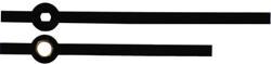 H 3a Metal Clock Hands (Straight baton)