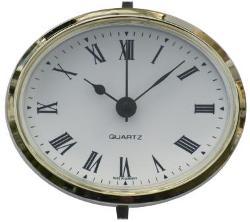 Oval Caravan Clock Instrument