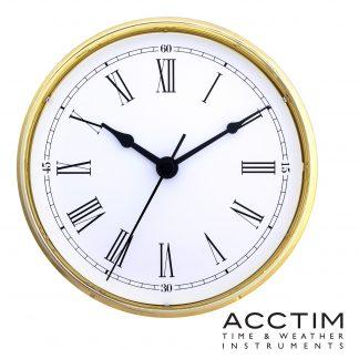 70mm Caravan Clock Instrument