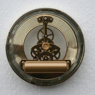 103mm Skeleton Clock rear view