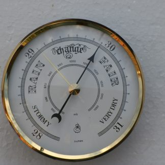 70mm Barometer with White dial