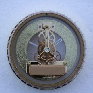 120mm Skeleton Clock rear view