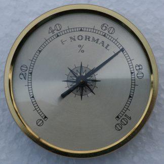 Brass Dialed Hygrometer