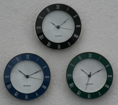 45mm Crystal watch inserts